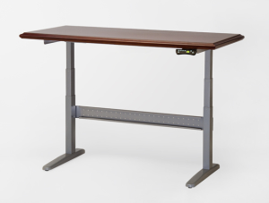 height-adjustable-desk-without-crossbar